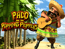 Paco And Popping Peppers - новый автомат на деньги